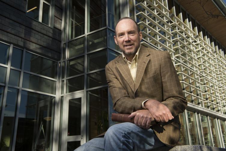 Professor of economics Bruce Elmslie