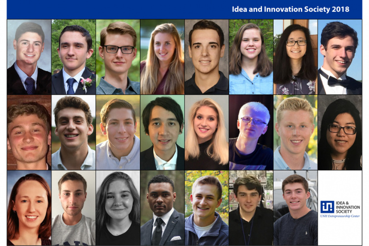 Students involved in UNH's ECenter