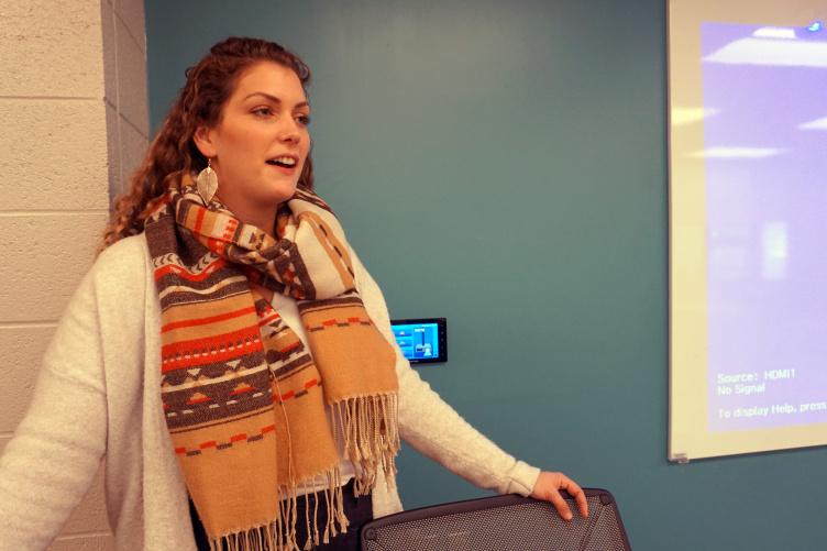 Julia Williams, 2018 dietetic internship graduate