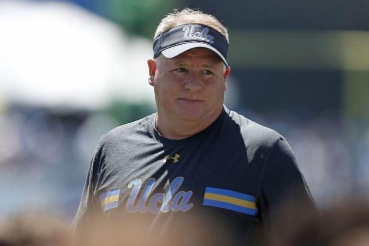 UCLA head coach Chip Kelly