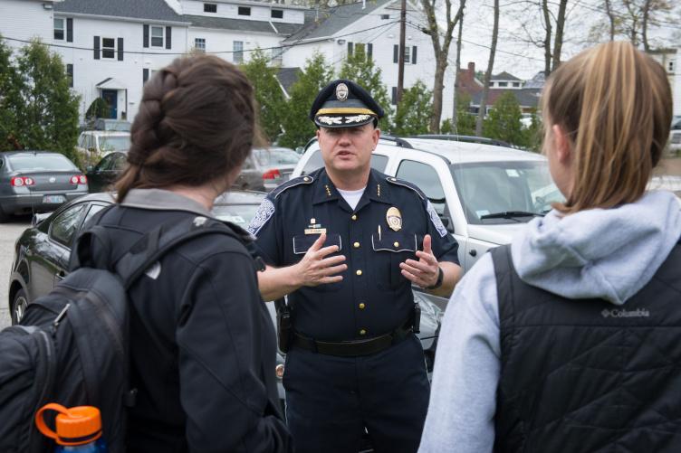 UNH police chief Paul Dean
