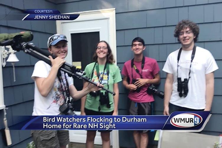 Birdwatchers in Durham