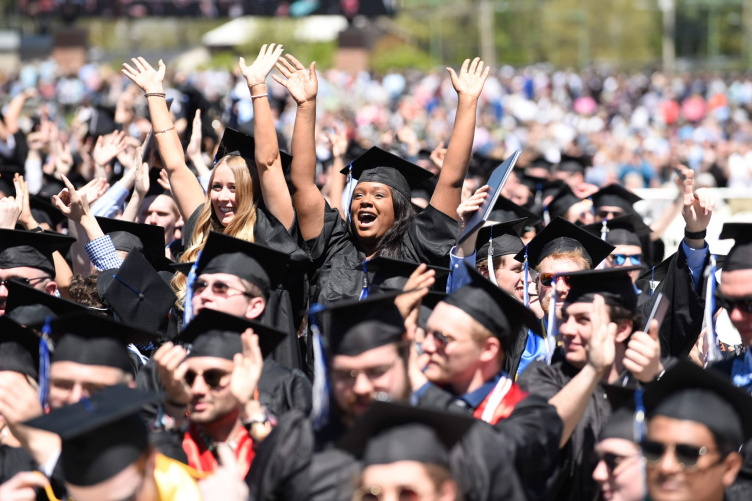 UNH's Class of 2019 at Commencement