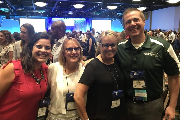 Lori Dameron and Kimberly Clark at the NACE Conference