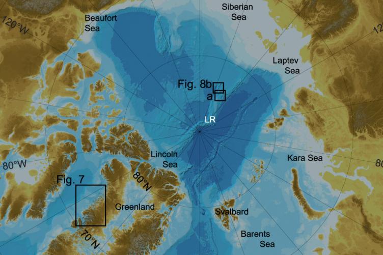 New Arctic Ocean map has been released