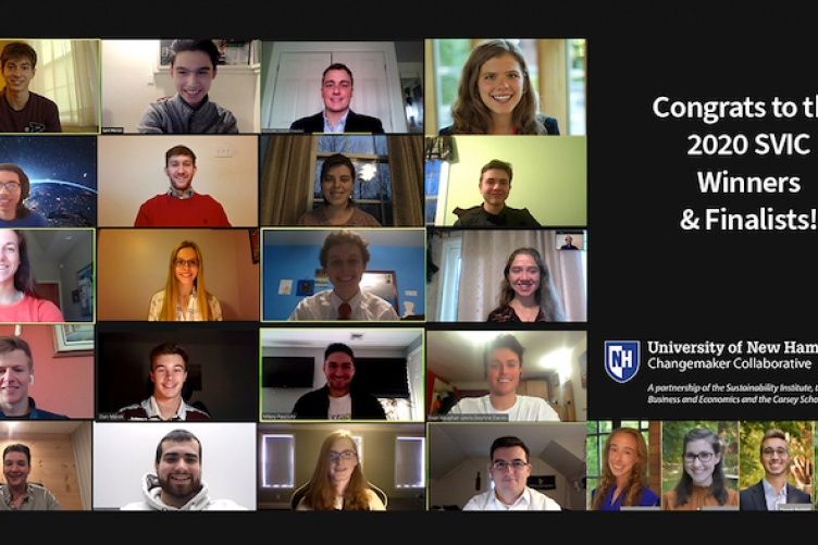 screen shot of all the student finalists