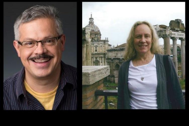 Photo of professors Brigitte Bailey and Daniel Chávez Landeros