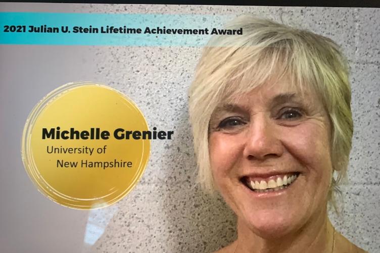 Associate professor of Kinesiology Michelle Grenier