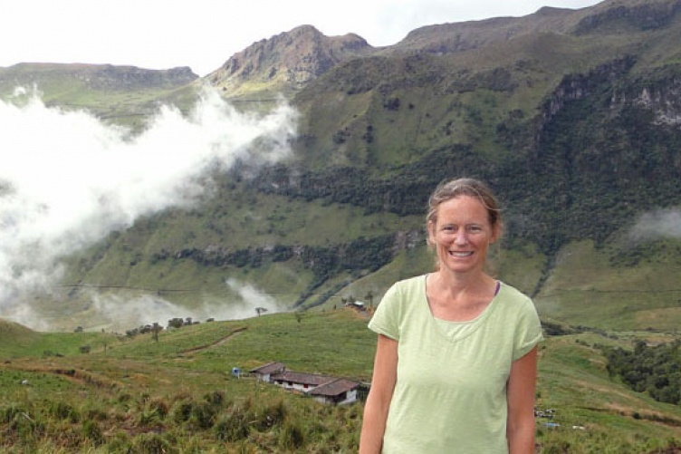 Heidi Asbjornsen, associate professor of natural resources and the environment.