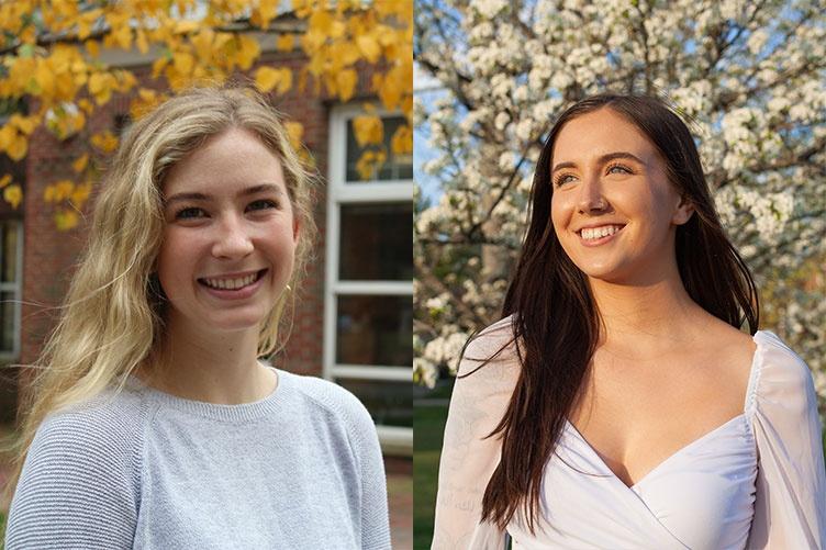 photos of Emily Judkins and Virginia Walsh