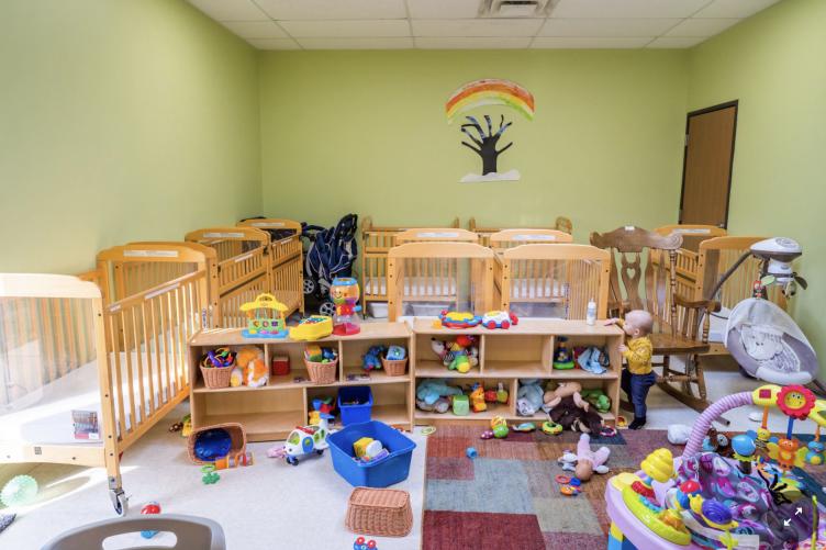 A photo of an empty nursery