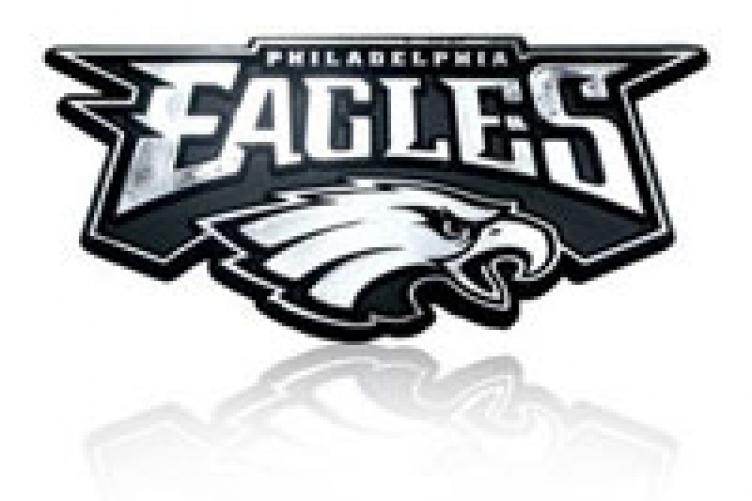 Philadelphia Eagles Super Bowl Lii Chions Acrylic Metallic Form Auto Emblem