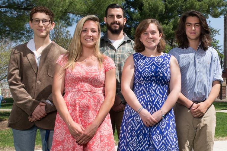 UNH recipients of Gilman Scholarship