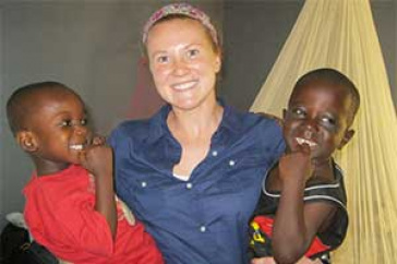 Jennifer Lyon, Ghana Journey Insories Nursing Students