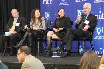 A panel discussion at the 2016 Lean summit at UNH
