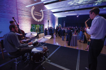 students playing music at UNH's Evening of Distinction