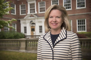 Heidi Bostic, dean of the UNH College of Liberal Arts