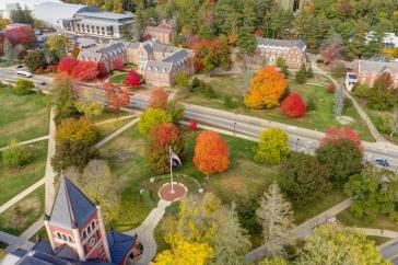 UNH campus aerial