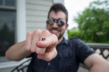 Jacob Withee, bee whisperer