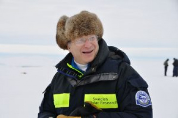 Larry Mayer in the Arctic