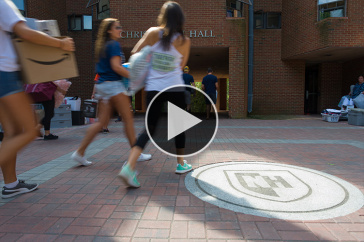 Move-in Day 2017 at UNH