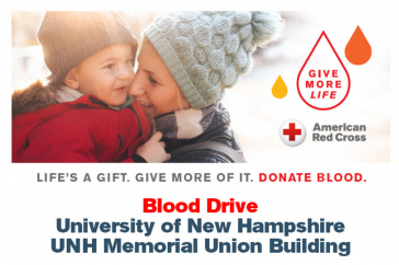 Red Cross UNH Blood Donation graphic