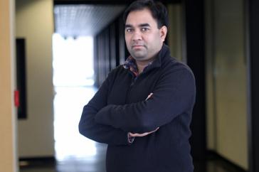 chemical engineering professor Harish Vashisth