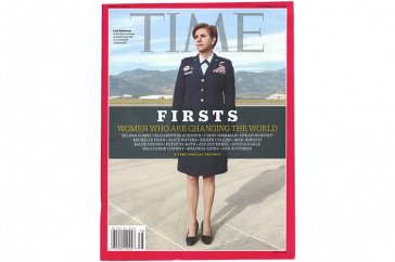 Lori Robinson on the cover of TIME Magazine
