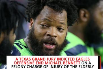 Philadelphia Eagles defensive end Michael Bennett