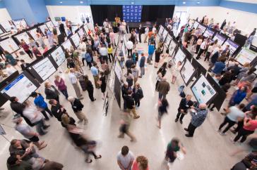 Overhead shot of COLSA Undergraduate ResearchConference