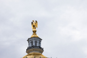 top of the NH State House in Concord