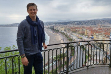 Justin Poisson in Nice, France