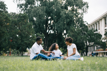image of young family, pexels.com image