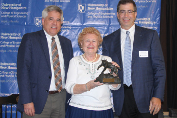 Margaret (Peggy) Ann Shea receives alumni award