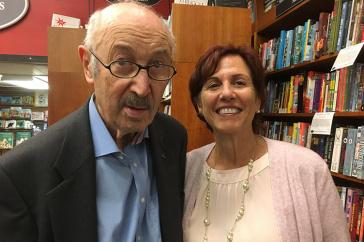photo of David Shrayer-Petrov and Arna B. Bronstein