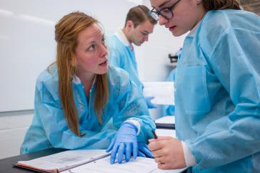 UNH assistant clinical professor Stephanie Clarke