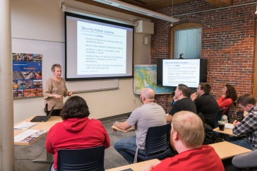 Homeland security course at UNH Manchester