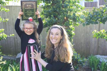 Joy Erickson and daughter Gabriella