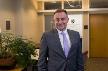 Mark Bonica, assistant professor health management & policy