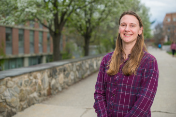 Melissa Aikens, assistant professor biological sciences