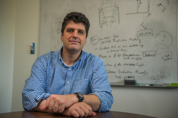 Nathan Schwadron, associate research professor of physics and astronomy