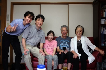Japanese Family Photo