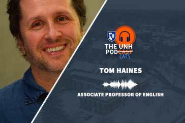Journalism professor Tom Haines