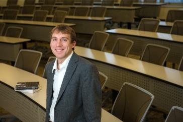 Jason Sokol in classroom
