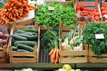 Image of vegetables and produce