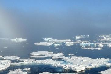 ocean ice floe