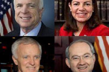 senators participating in fiscal responsibility conference