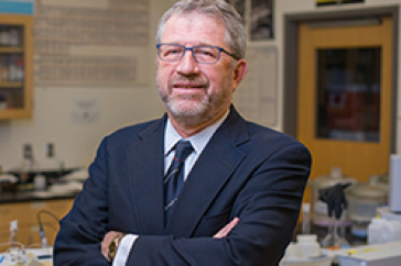 Bill McDowell, professor of environmental science at the University of New Hampshire