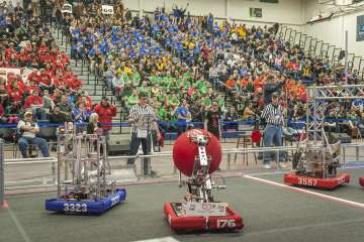 UNH Hosts District FIRST Robot...