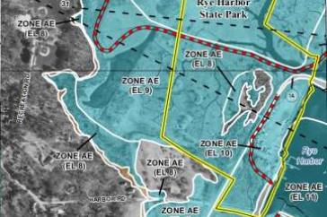 Unh Updates Coastal Flood Hazard Maps For Nh Communities
